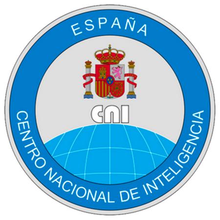 """Seminario """"El Centro Nacional de Inteligencia al servicio de los españoles"""" logo"""